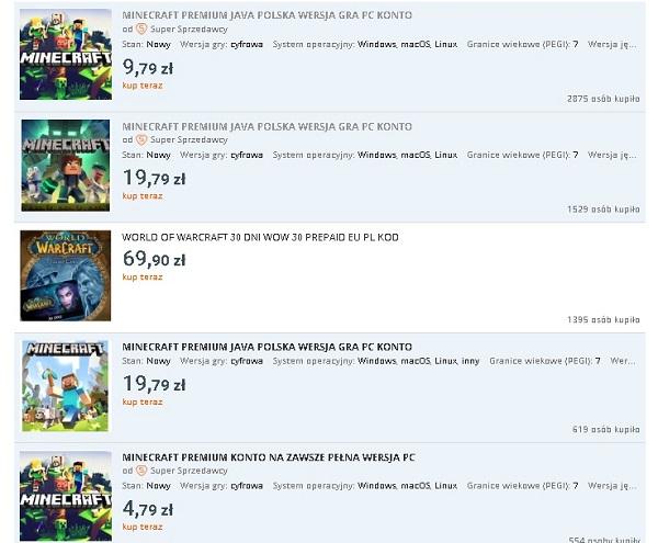 Sprzedany gry - Allegro Jak zarabiać na grach