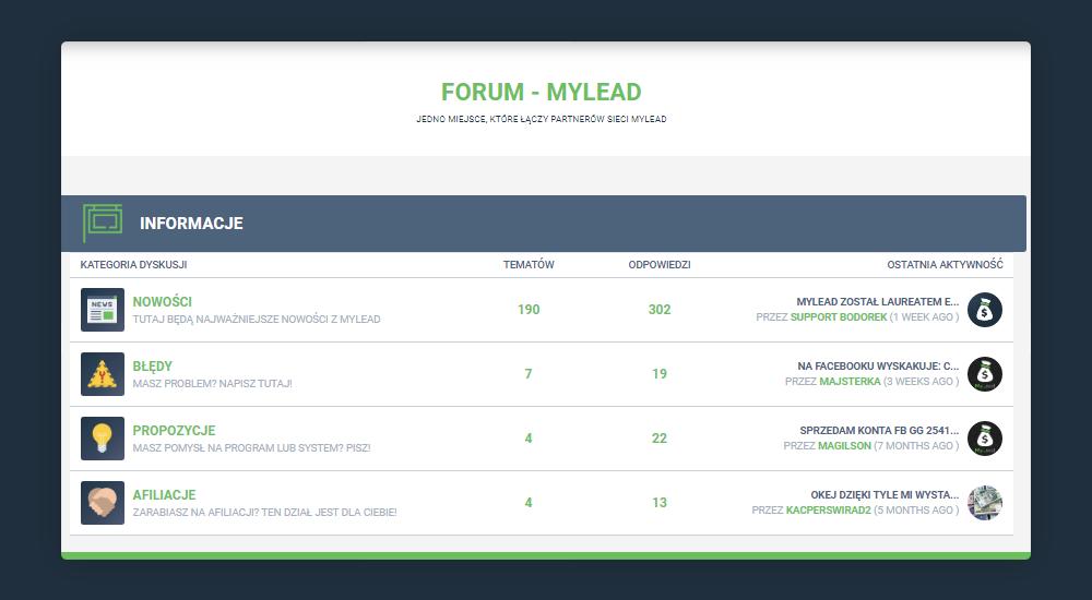 Zarabianie w internecie Forum MyLead