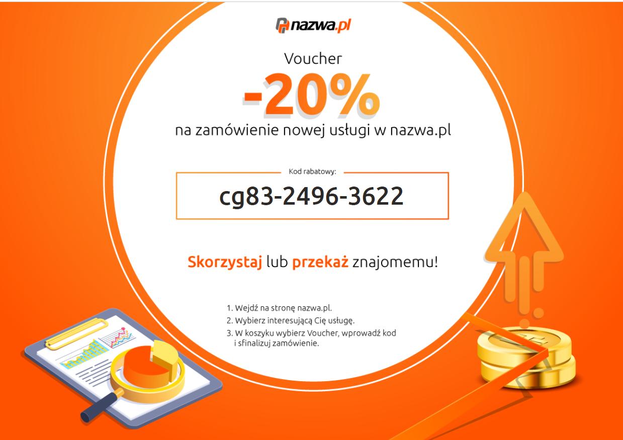 nazwa.pl kod rabatowy